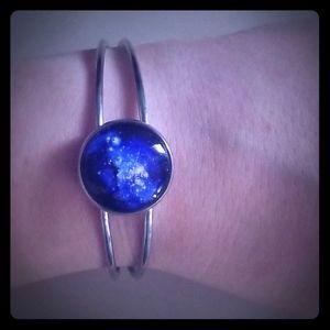 Galaxy cuff bracelet